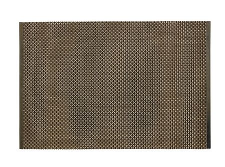 """Urban Espresso Weave Vinyl Placemat 