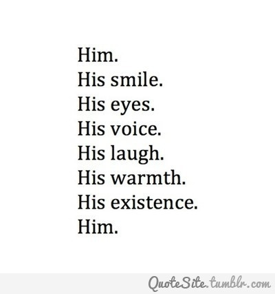 He is perfect. :)