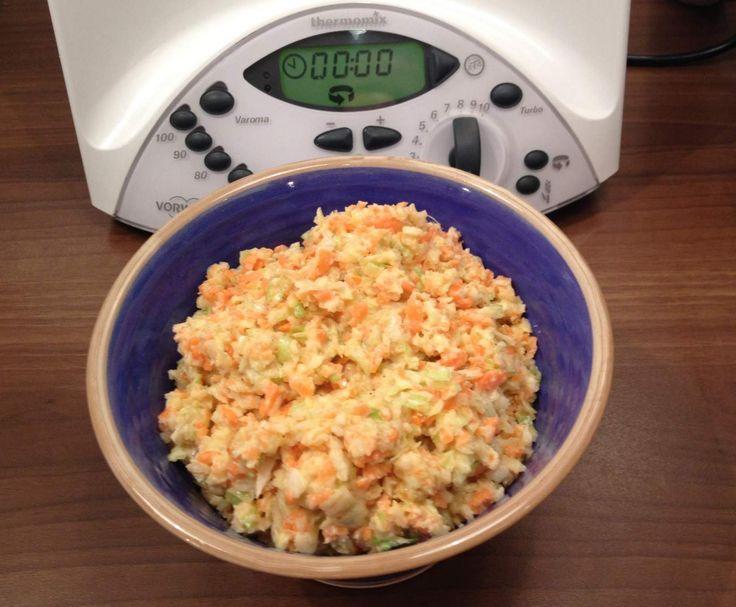 Rezept Coleslaw nach Jamie Oliver von SarahOausM - Rezept der Kategorie Vorspeisen/Salate