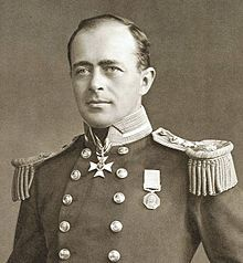 Captain Robert Falcon Scott, CVO, RN (6 June 1868 – 29 March 1912) was an English Royal Navy officer and explorer who led two expeditions to the Antarctic regions: the Discovery Expedition, 1901–1904, and the ill-fated Terra Nova Expedition, 1910–1913 during which he and his party of 5 discovered plant fossils proving Antartica was once forested and joined to other continents.All died while returning only11 miles from the next depot and 150 miles from their base camp.