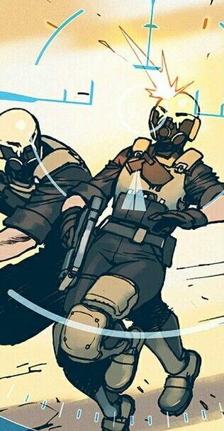 #Overwatch #Ana #Amari #Bengal #Gabriel #Reyes #Jack #Morrison #Michael #Chu #Soldiers #Comics #Comic #Reaper #Soldier #76