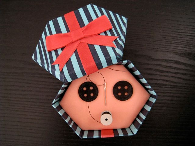 Button Eye Gift Box from the Other Mother | Coraline