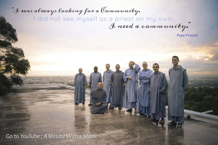 On this beautiful picture: Our brothers in Monterrey, Mexico. God bless you hermanos! #monks #brothersofsaintjohn #community #godisgood