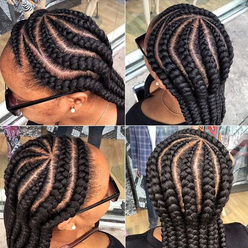 17 Best images about African American cornrow hairstyles on Pinterest Ghana braids It is and