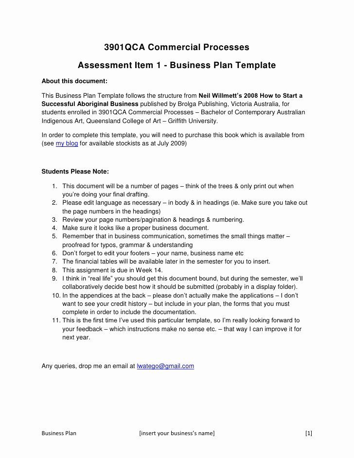 Awesome Concept Statement Example Business Plan Template