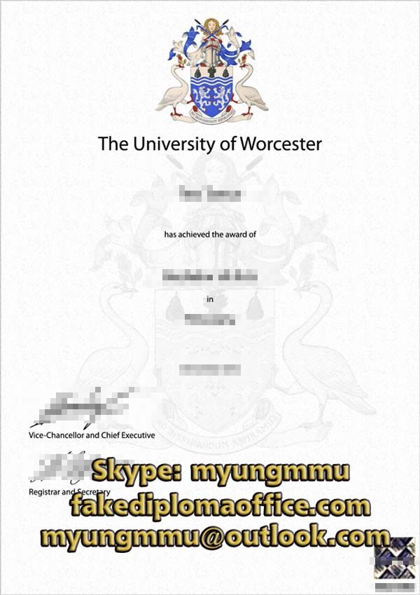 University Of Worcester Degree Fake Diploma Online With Images