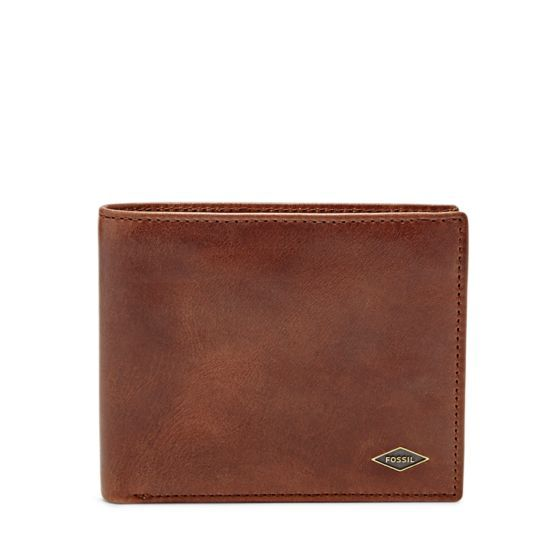 A back pocket basic, our Ryan bifold is crafted of smooth distressed leather with has plenty of compartments to house cards, coins and cash.We've designed this wallet with a special lining to protect the Radio Frequency Identification (RFID) chips in your credit and debit cards from any unwarranted scanning.