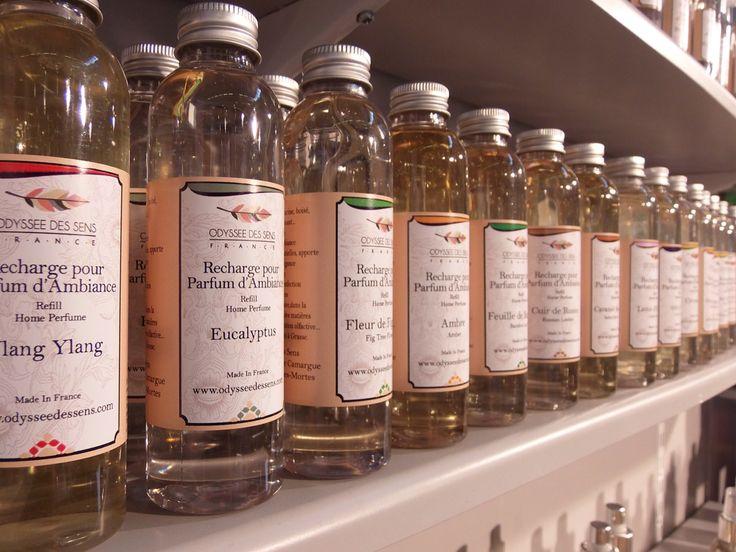 Szeroka gama niesamowitych aromatów do wnętrz Odyssee des Sens...
