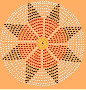 rosette beading patterns   ... eight point rosette hello just thought i would post a rosette pattern