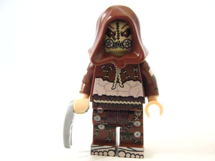 Lego custom - - - - - - - SCARECROW ARKHAM GAME ...