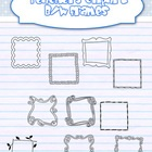 Use these lovely black and white frames for decorating your products.:::FOR COMMERCIAL USE:::...