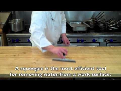 How to Properly Clean a Kitchen Work Surface