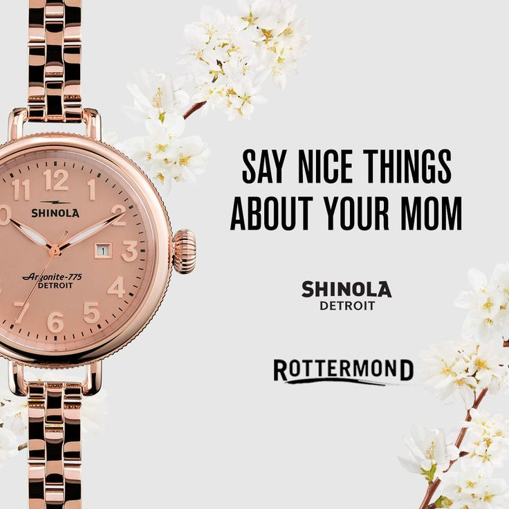 106 best Shinola Watches - Made in Detroit images on Pinterest ...