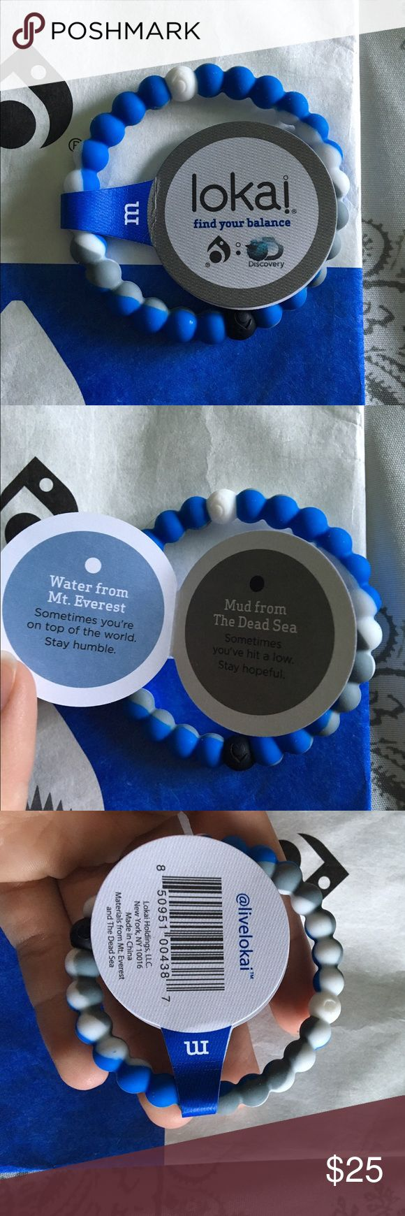 Limited edition Shark Lokai bracelet Never worn. Just got it in the mail today Jewelry Earrings