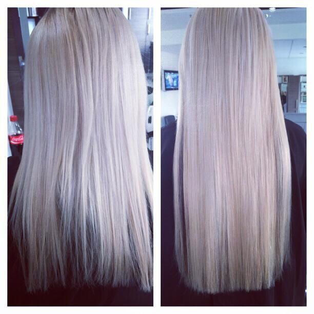 Individual pre bonded hair extensions