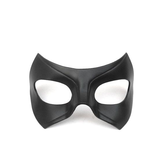 Black Canary Mask Laurel Lance Leather Mask Cosplay Arrow Series Tv Show Super…