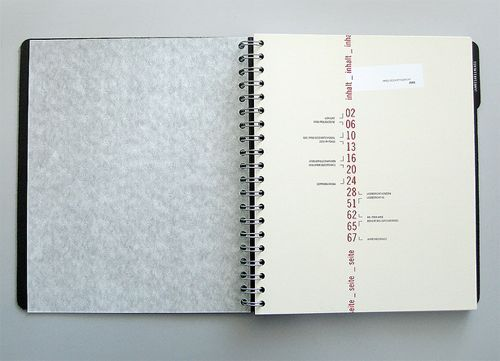 annual report table of contents example
