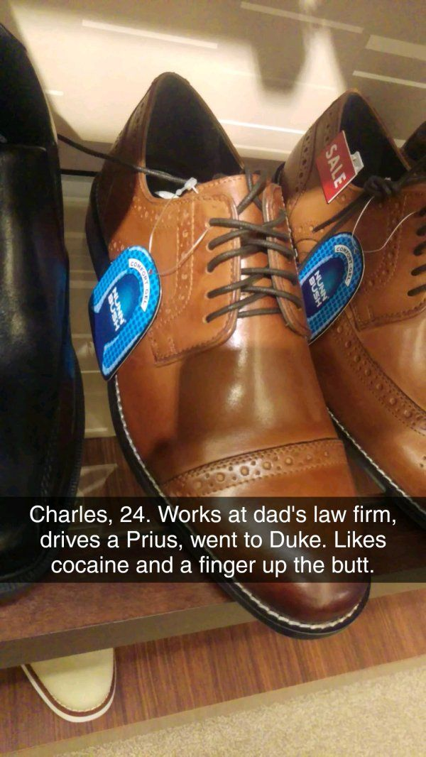 Descriptions of who would wear these shoes – 20 Pics