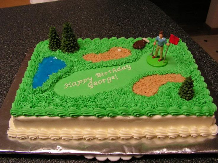 Cake Images Golf : golf cake sweets and treats Pinterest Golf Cakes ...