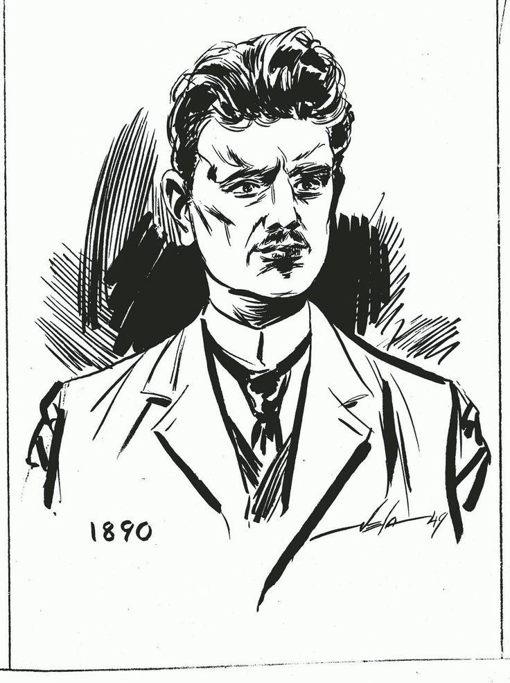HS alkaa julkaista Sibelius-sarjakuvaa – vuonna 1949 hanke kaatui puolison vastustukseen - Sibelius - Kulttuuri - Helsingin Sanomat
