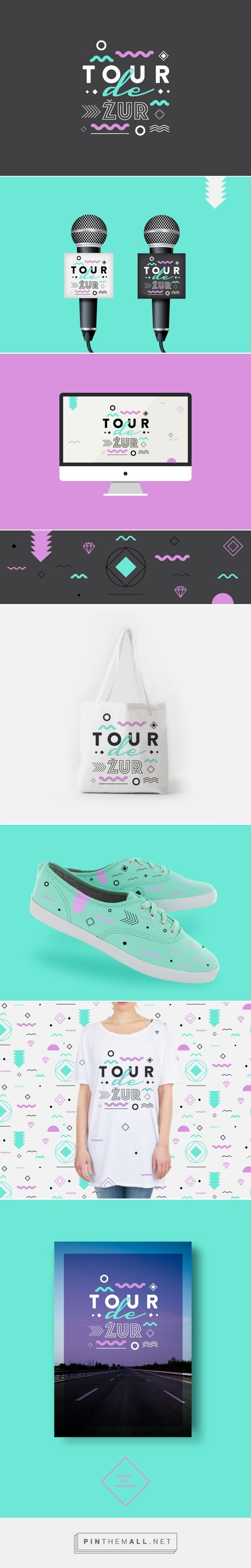 Tour de Žur on Behance | Fivestar Branding – Design and Branding Agency & Inspiration Gallery