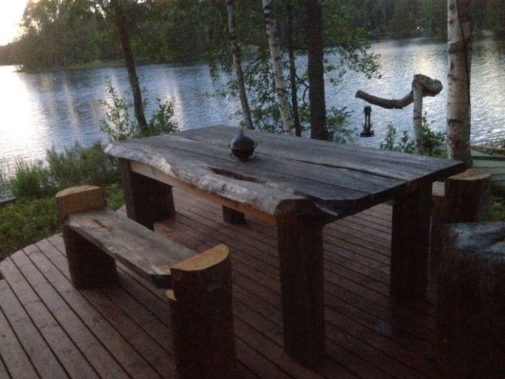 Puupöytä,recygling,coffeetable