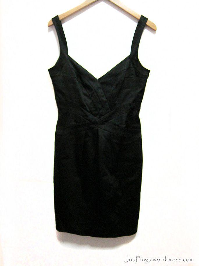 WAREHOUSE Black Party Dress $28