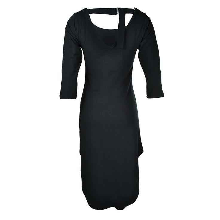 Bone Rose Dress Black/Grey