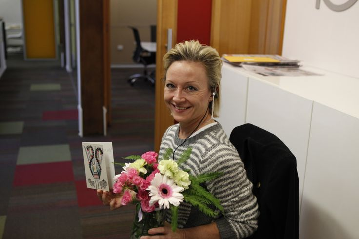 Happy Receptionist Day to the best there is, our amazing Angie!
