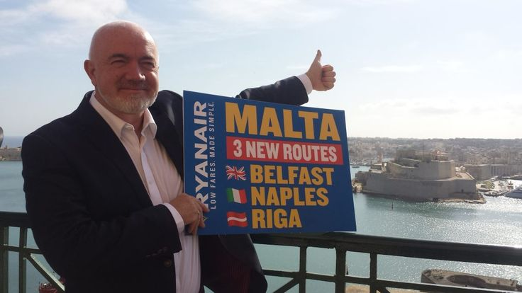 DUBLIN, Ireland, 2017-Mar-07 — /Travel PR News/ —Ryanair, Europe's No.1 airline, today (1 Mar) launched a new route from Belfast to Malta, with a tw
