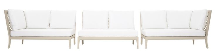 Buy duVal Settees - Sectional Seating by McKinnon and Harris - Made-to-Order designer Furniture from Dering Hall's collection of Traditional Transitional Sofas & Sectionals.