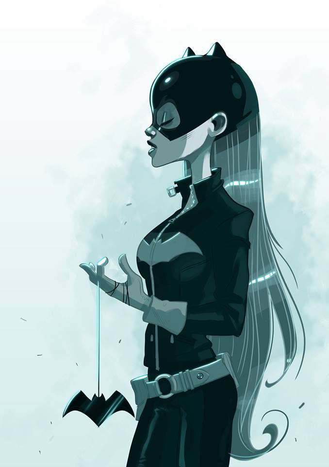 Artist Stephen Byrne has come up with beautiful illustration of Batgirl.