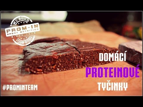 Domácí proteinové tyčinky - YouTube