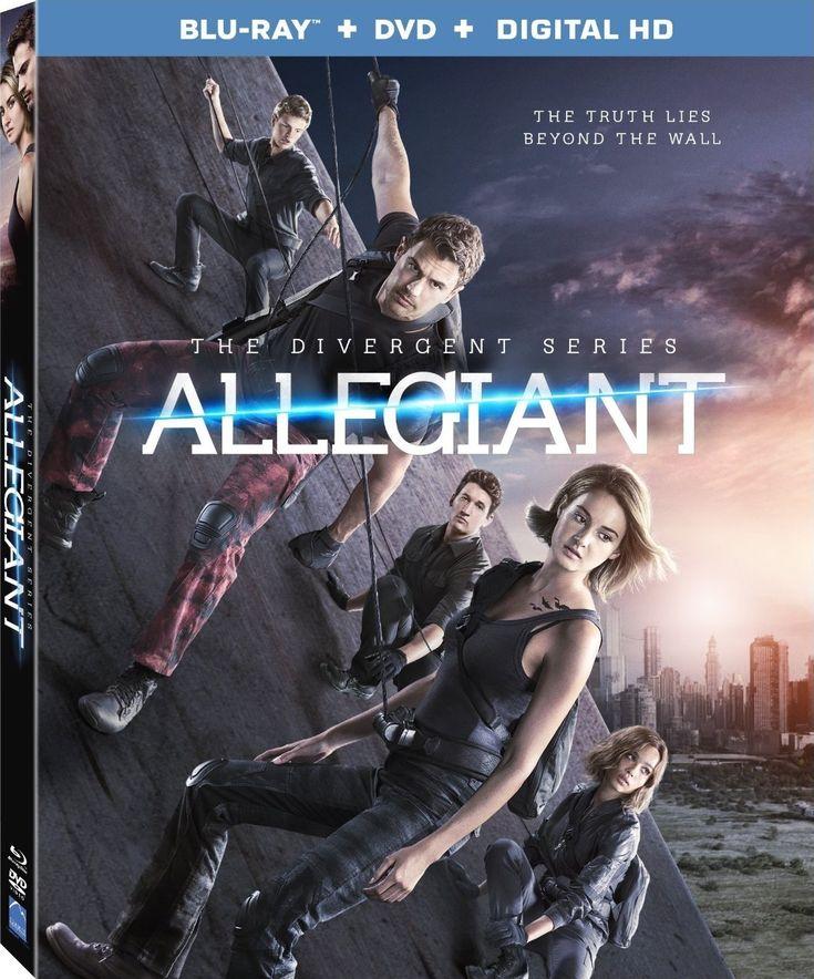 Allegiant Blu-ray
