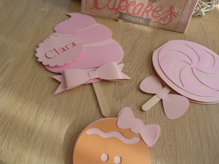 FAIRE-PART BAPTEME ANNIVERSAIRE BABY SHOWER THEME GOURMANDISE EN BATONNET DE GLACE COQUER ORIGINAL PERSONNALISABLE : Faire-part par sweet-ninatelier