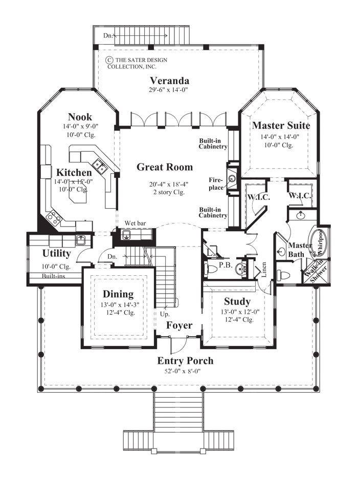 91 best cottage house plans the sater design collection for Sater design house plans