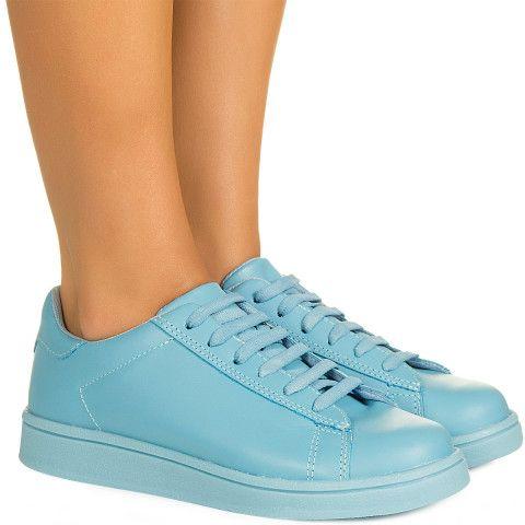 fd5cb805288 Tênis azul candy monocolor Taquilla