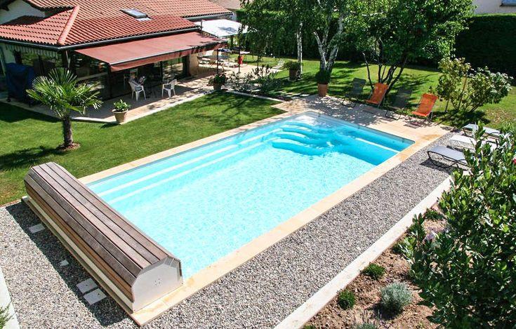 Plus de 1000 id es propos de piscine coque polyester - Modele de piscine desjoyaux ...