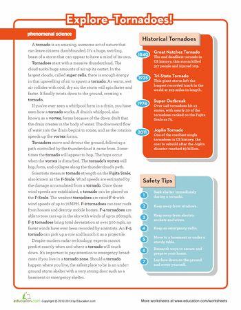 tornado fillintheblank worksheet educationcom - 350×450