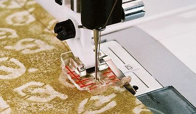 Clear ¼ inch Piecing Foot Viking Husqvarna Sewing Machine 412-9274-45