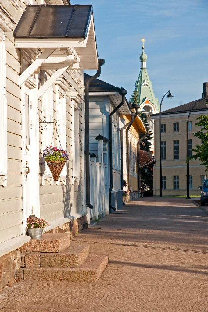 The old centre of Hamina is very idyllic.