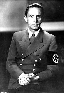 1933 ♦ July 10, Joseph Goebbels was a German politician and Reich Minister of Propaganda of Nazi Germany from 1933 to 1945.