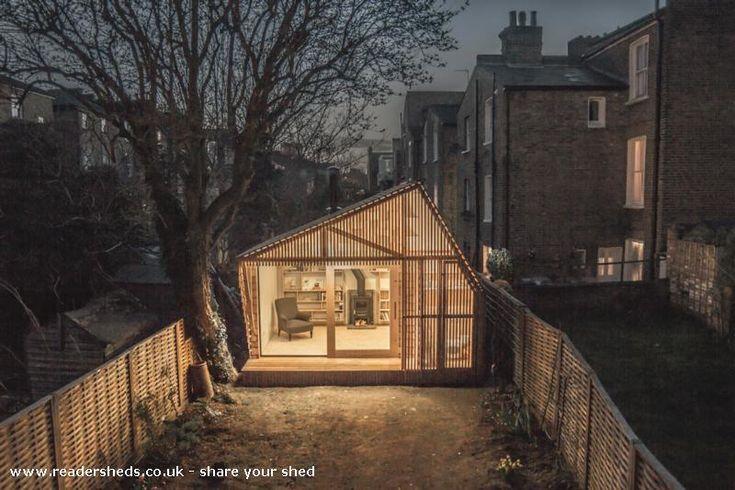 Writeru0027s Shed, Garden Office From Garden #shedoftheyear Readersheds.co.uk |  Amazing Spaces | Pinterest | Garden Office, Gardens And Workshop Studio