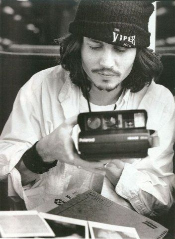 Johnny Depp - Polaroid