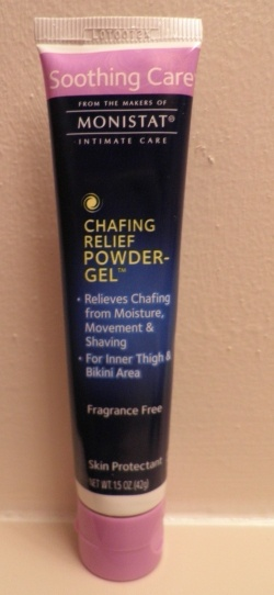 "Monistat Anti-Chafing Gel can be used as an alternative to BareMinerals ""Prime Time"" face primer! Costs way less and the ingredients are almost identical. So glad I discovered this!"