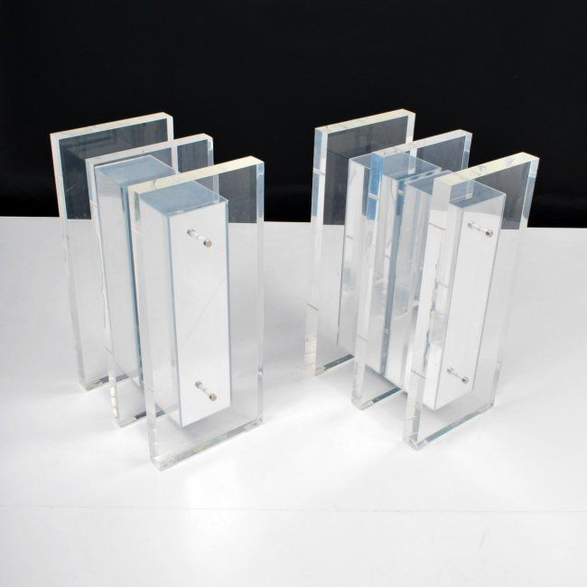 Lucite Table Base   Google Search