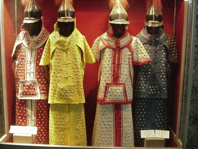 Qing (manchu) armor. | chinese armor and weapons ...