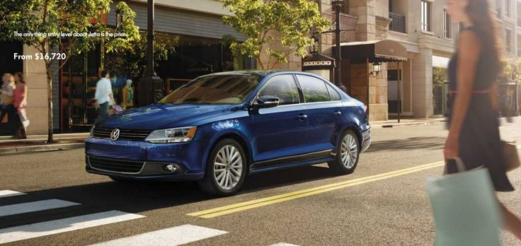 """The 2013 Volkswagen Jetta. """"Everything you need. At a price you won't believe"""" MSRP starting at $16, 720"""