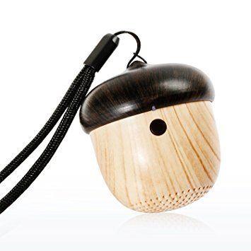 Enceinte AVWOO Nut mini haut-parleur portable Bluetooth sans fil avec la meilleure qualité stéréo pour Android, Iphone, Smartphone, PC, 3W / Rechargeable 600mAh