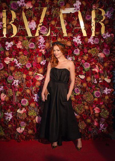 Harper's Bazaar party! #parlorstudio #dress #accesories #special #black #harpersbazaar